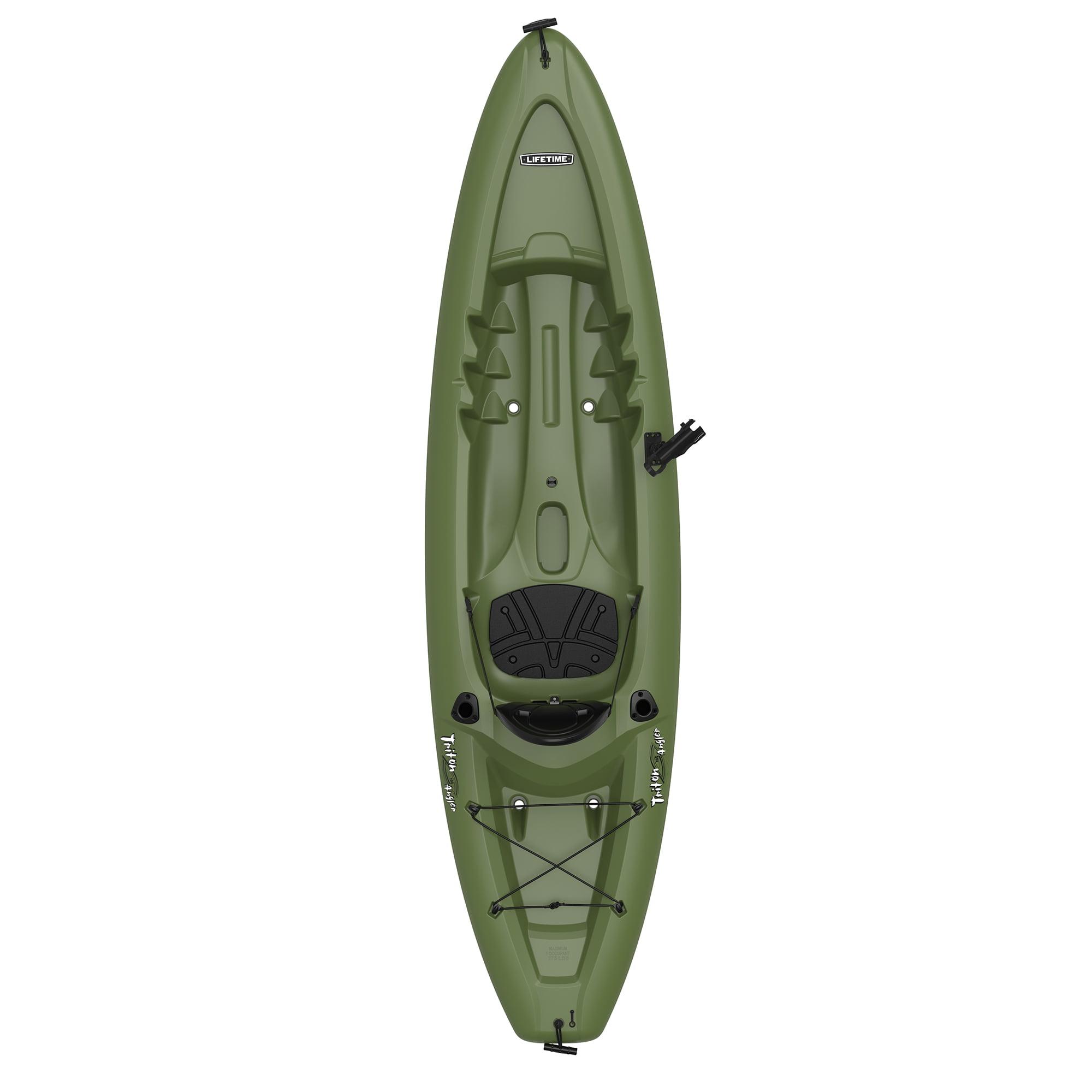 Lifetime Triton Angler 10 Ft Fishing Kayak Green 90793 Walmart Com Walmart Com
