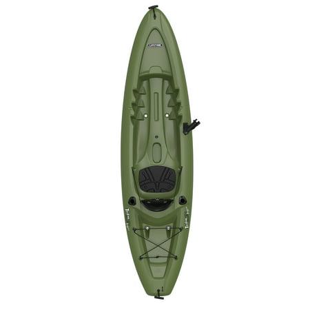 Lifetime Triton Angler 10 ft Fishing Kayak, Green 90793