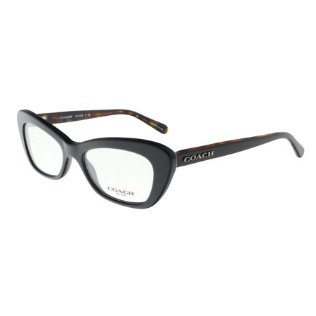 COACH HC6108 5487   Black Cateye  Optical Frames