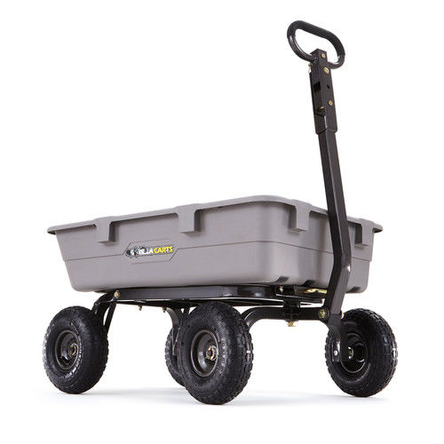 Upc 722571011048 Gorilla Carts Poly Garden Dump Cart