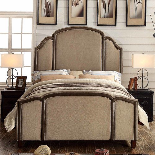 Mulhouse Furniture Ricca Queen Upholstered Bed