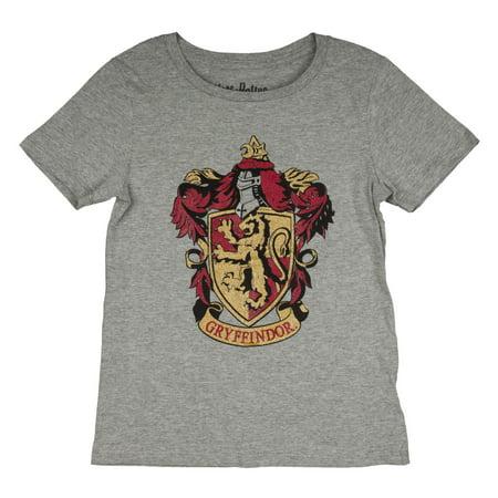 Gryffindor Glitter Crest Graphic T-Shirt (Little Girls & Big - Gryffindor Crest