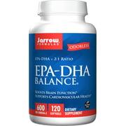 Jarrow Formulas EPA-DHA Balance Softgels, 600 Mg Omega-3, 120 Ct