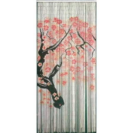Bamboo54 Cherry Blossom - 125 Strand Bamboo Curtain ()