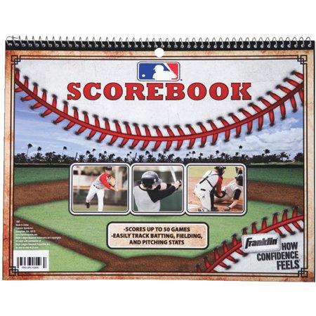 Franklin Sports Baseball and Softball - Official Scorebook