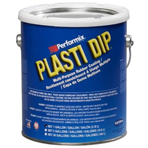 Performix Plasti Dip 10109 Clear Multi-Purpose Synthetic Rubber Coating, 1 gal.
