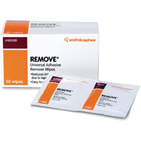 Remove Adhesive Remover Wipes [403100] 50 ea