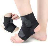 Adjustable Ankle Support Brace  Wrap with Compression Strap One Size