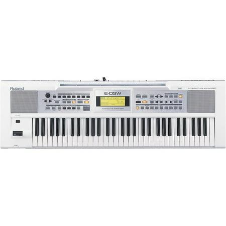 Roland E-09W Interactive Arranger Keyboard