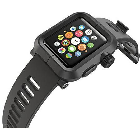 Lunatik Epik Polycarbonate Case And Silicone Strap For 42mm Le Watch Series 1 Black Open Box