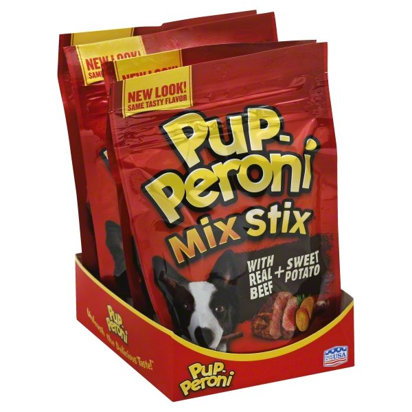 Pup-Peroni Mix Stix Real Beef + Sweet Potato Flavor Dog Snacks, 5.6-Ounce