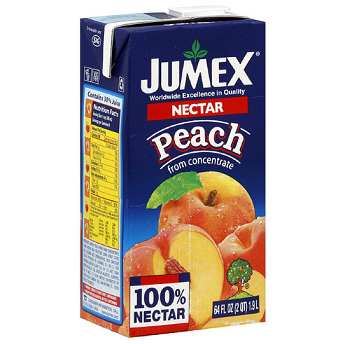 Jumex Peach Nectar, 1.89LT (Pack of 8)
