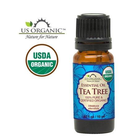 100% Pure Certified USDA Organic - Tea Tree Essential Oil