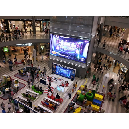 LAMINATED POSTER Video Game Mall Of America Event Shopping Mall Poster Print 24 x 36 for $<!---->