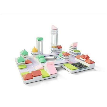 Arckit Play Architectural Building Kit: Cityscape Plus - 160 Pieces