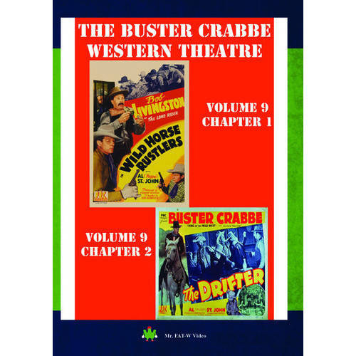 Buster Crabbe Western Theatre Vol 9 by
