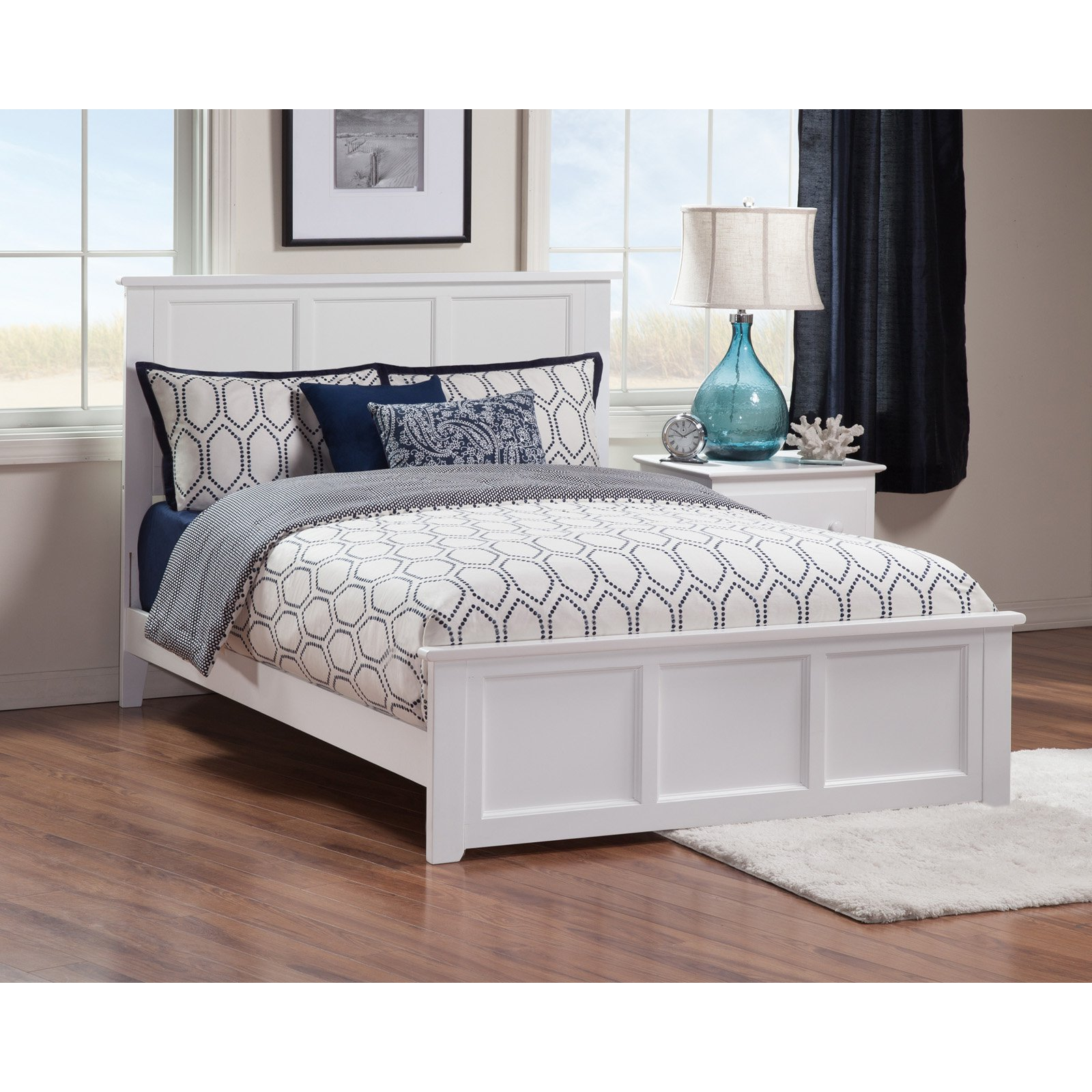Atlantic Furniture Madison Bed with Matching Footboard by Atlantic Furniture