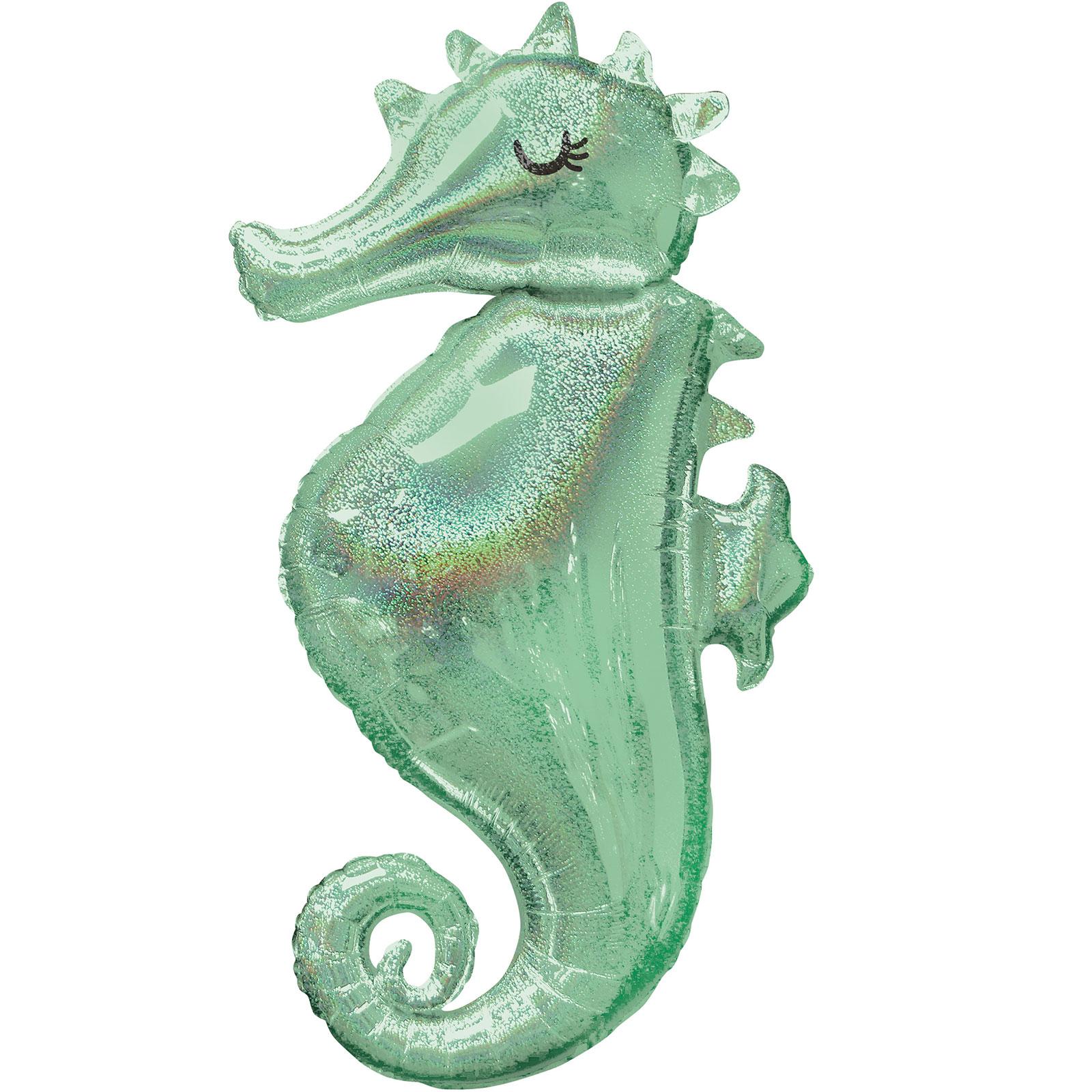 "Mermaid Seahorse 38"" Shape Balloon (1)"