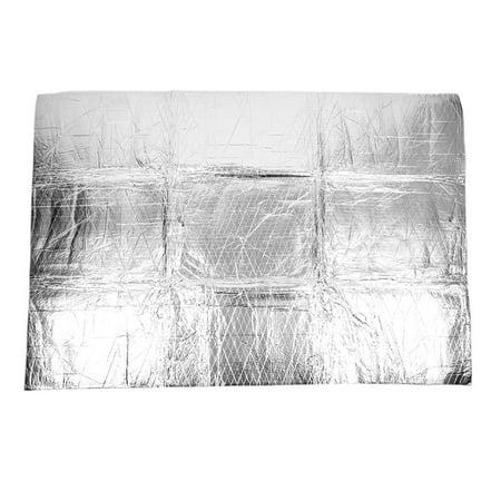Aluminum Foil Car Sound Deadener Noise Proof Insulation Mat Heat Shield 135 x 97cm - image 1 of 3