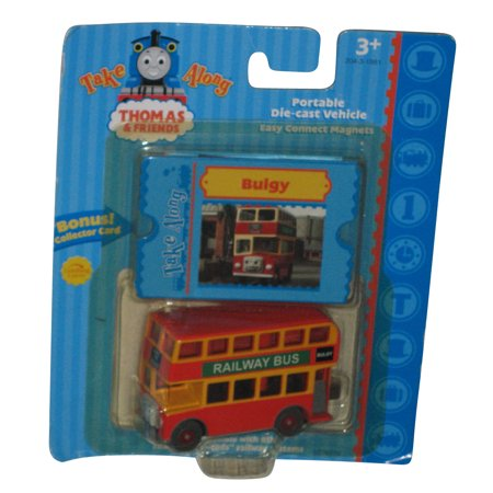 Thomas and Friends Learning Curve Take Along Bulgy Railway Bus Die-Cast Toy Train
