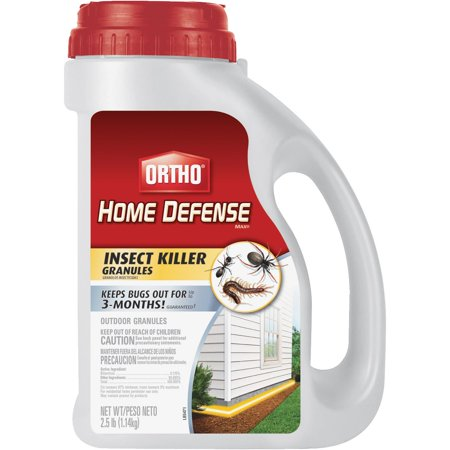 Ortho Home Defense Max Insect Killer Granules  2 5 Lbs