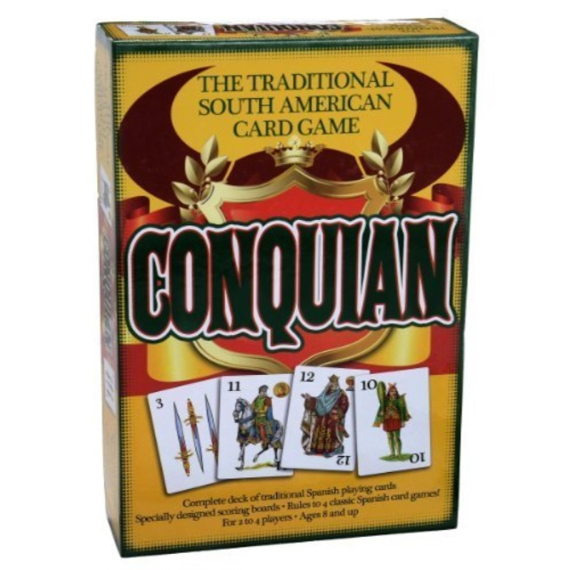 Conquian Card Game by Pressman Toys by