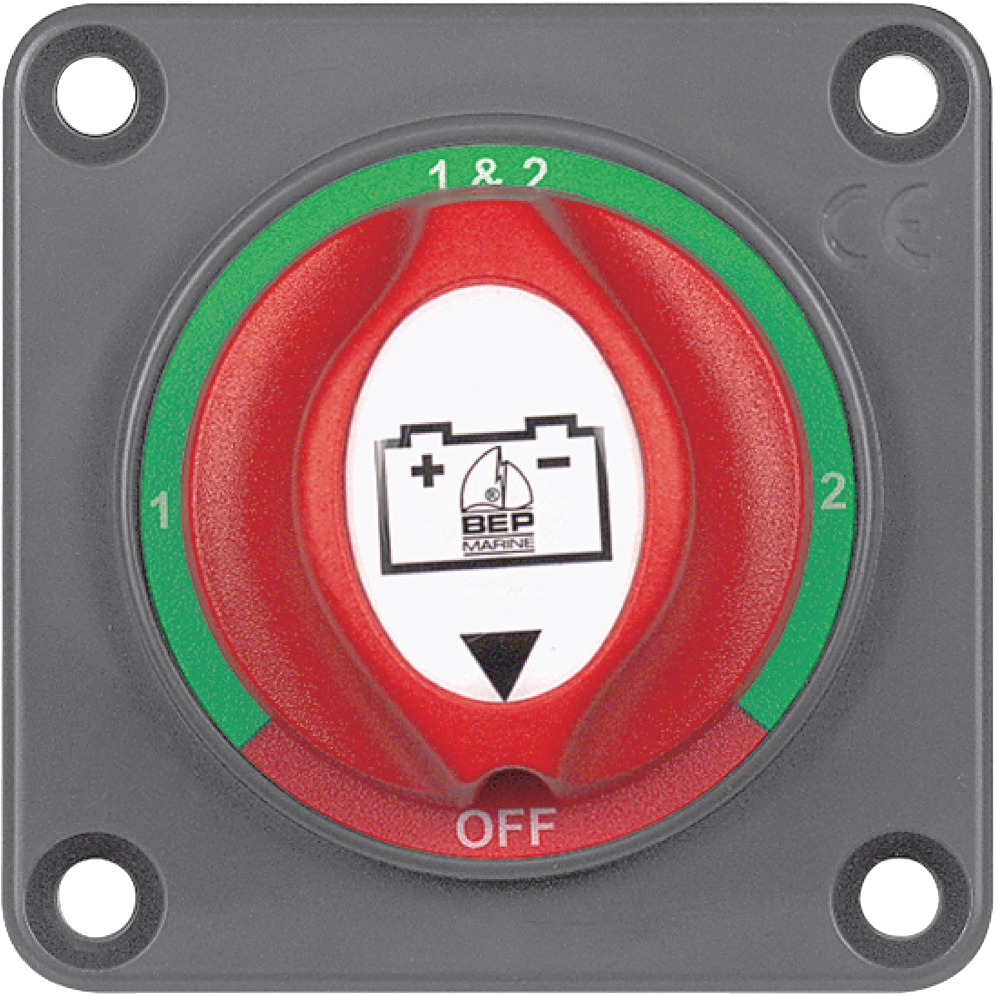 Marinco BEP Panel-Mounted Battery Selector Switch