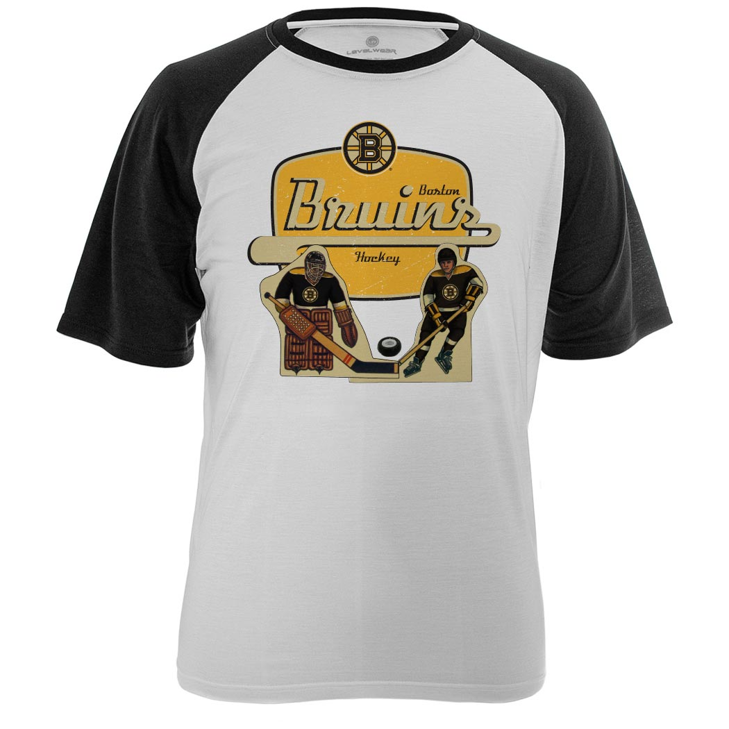 Boston Bruins Table Top FX Raglan T-Shirt