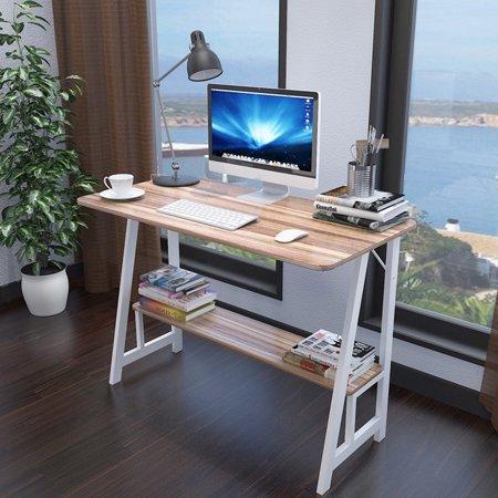 Desktop Home Computer Desk 31.5×19.7Inch Ancient oak ()