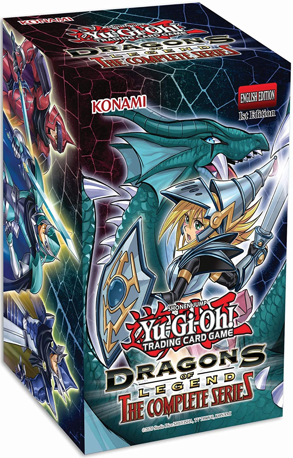 yugioh trading cards dragon of legend complete series