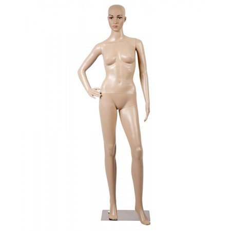 Female Full Body Realistic Mannequin Display Head Turns Dress Form w/Base F61 for $<!---->