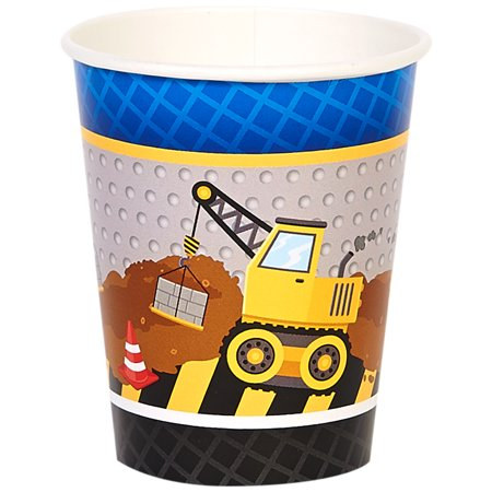 Construction Party Supplies 32 Pack Paper Cups](Construction Theme Party Supplies)