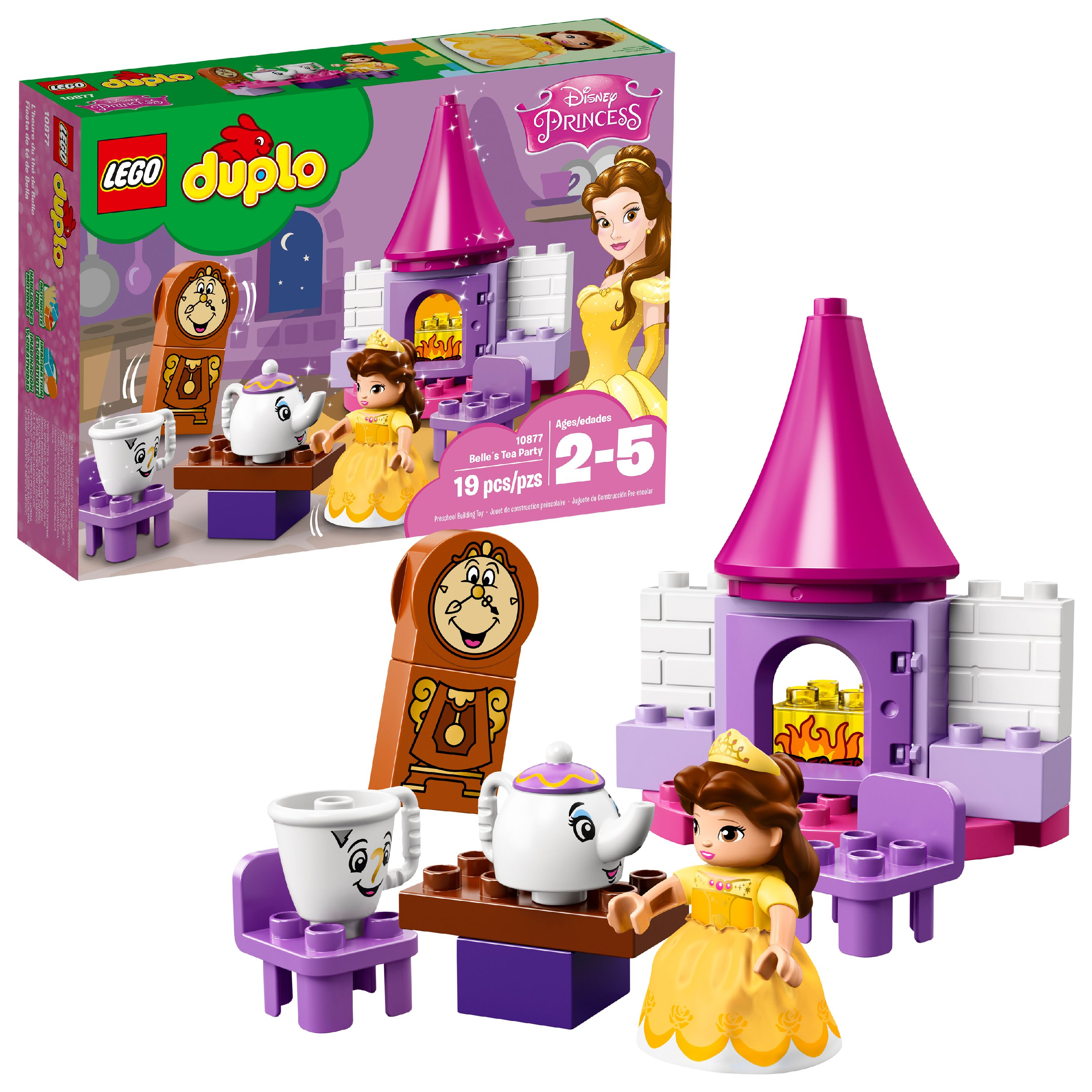 LEGO DUPLO Princess Belle´s Tea Party 10877 (19 Pieces)