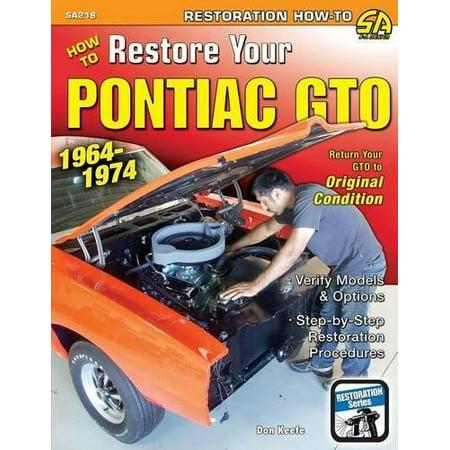 How To Restore Your Pontiac Gto  1964 1974