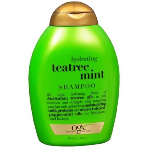 Organix Hydrating Tea Tree Mint Shampoo 13 oz (Pack of 2)