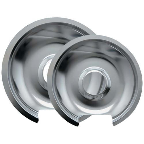 Range Kleen 10562x Chrome Drip Pans [hinged Electric Ranges; Fits Most Ge[r], Hotpoint[r], Kenmore[r] Models]
