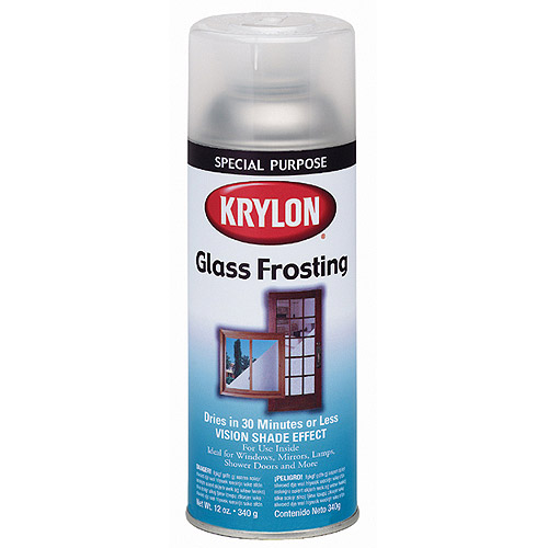 Krylon Glass Frosting Aerosol Spray, Clear, 12 oz