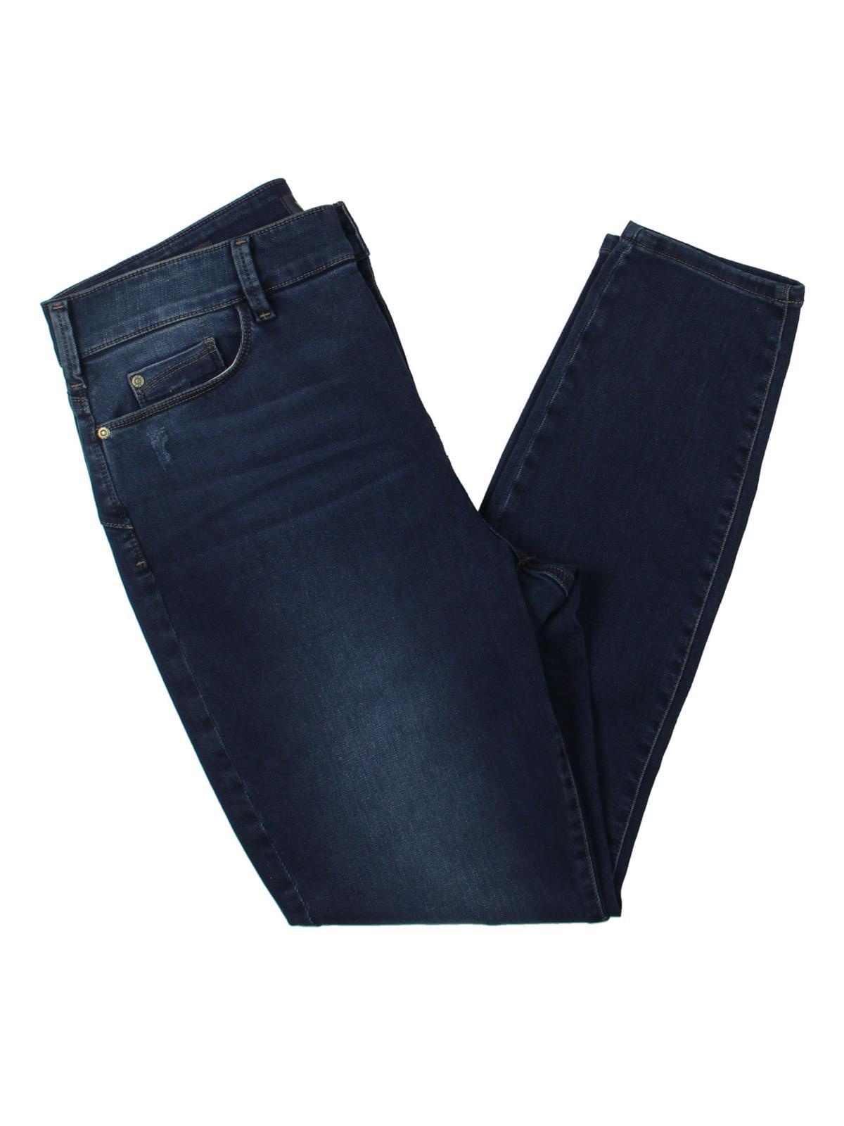 NYDJ Womens Petites Ami Mid-Rise Jegging Skinny Jeans