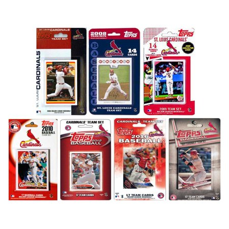 - C & I Collectables MLB St. Louis Cardinals 7 Different Licensed Trading Card Team Sets