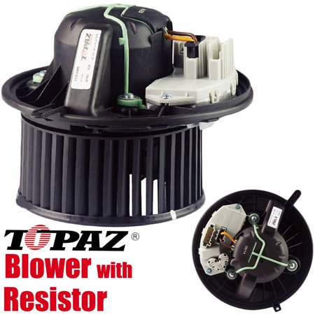 TOPAZ 64119227670 Blower Motor with Regulator for BMW E90 F25 E89 1 3 Series (Bmw Voltage Regulator)
