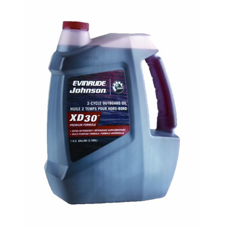 OEM BRP JOHNSON EVINRUDE XD 30 2-Cycle Oil One Gallon 764349