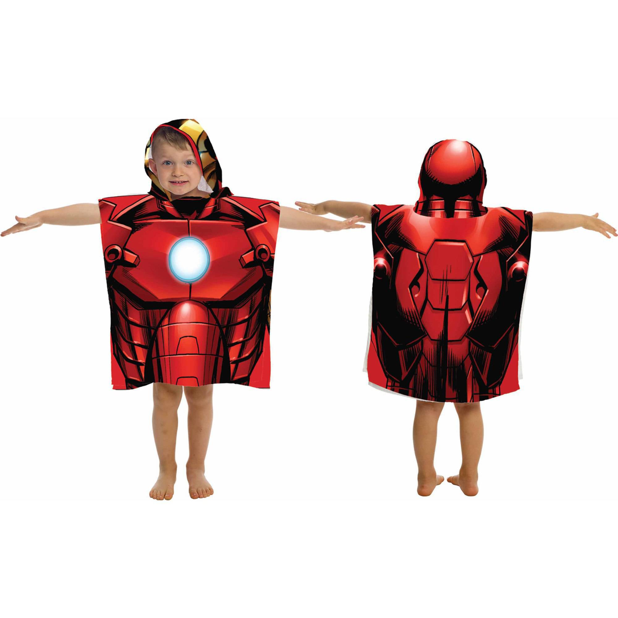 Marvel Iron Man Character Hooded Towel