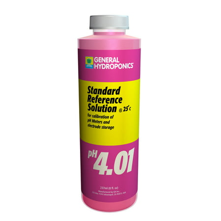 - pH 4.01 Calibration Solution 8 oz