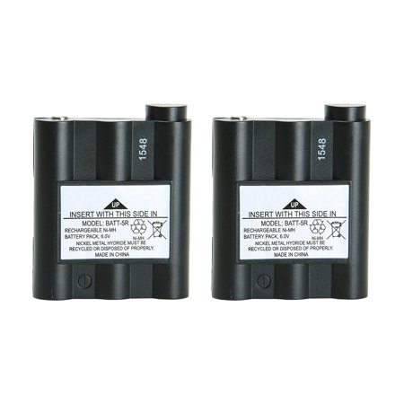 Replacement Battery For Midland GXT1000 2-Way Radios - BATT5R (700 mAh, 6V, NiMH) - 2 -