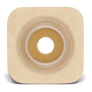 Sur-fit Natura Stomahesive Flexible Pre-cut Wafer 5 x 5 Stoma (Flexible Stoma Wafer)