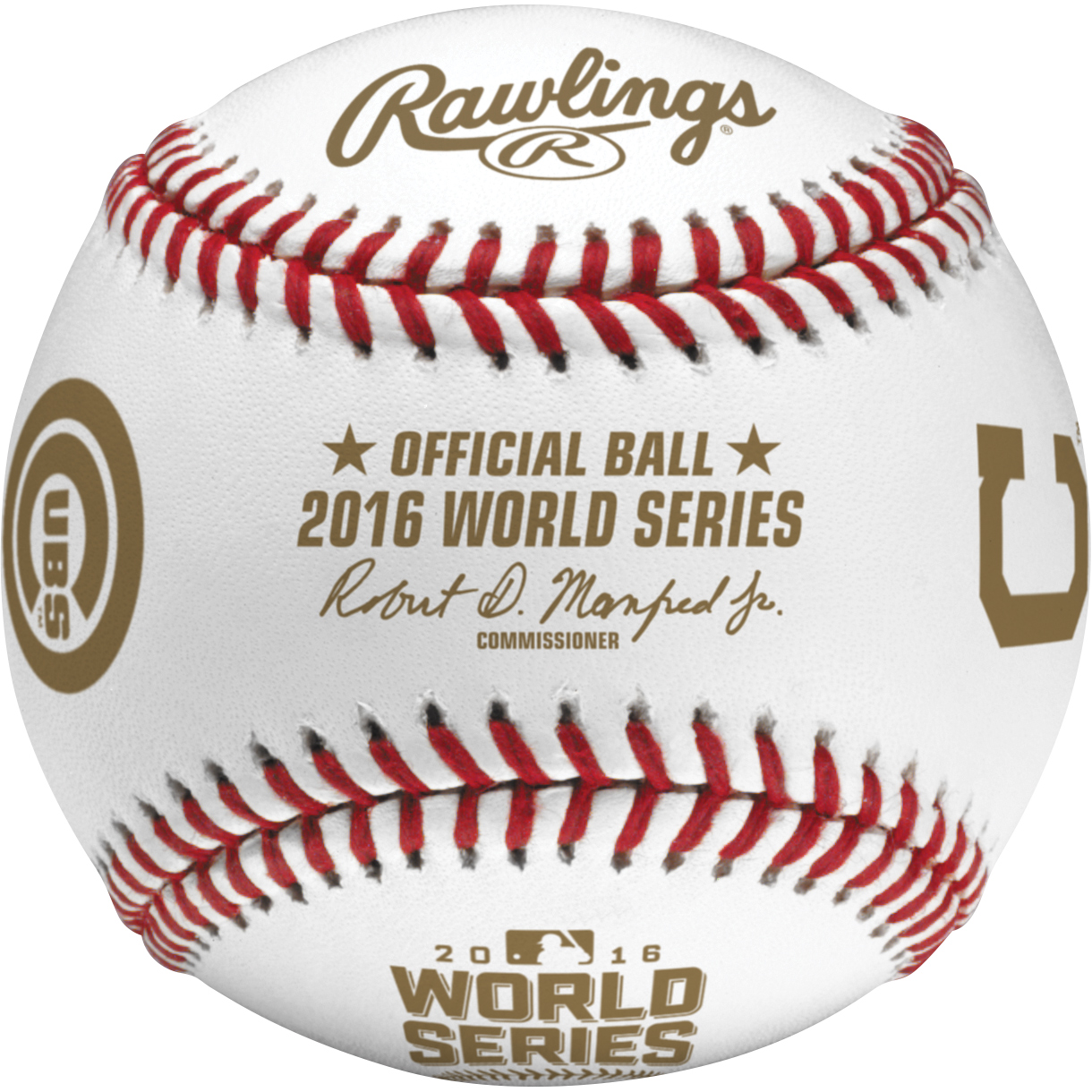 Cleveland Indians vs. Chicago Cubs Rawlings 2016 World Series Bound Dueling Baseball Cube - No Size