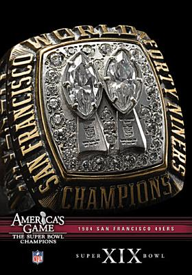 NFL America's Game: San Francisco 49ers Super Bowl XIX (DVD) by Allied Vaughn