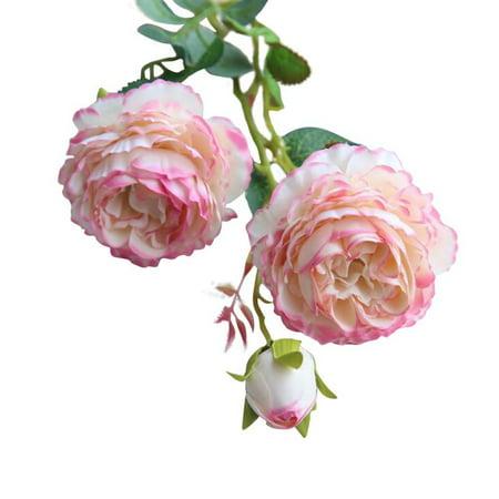 Artificial Fake Rose Flowers, 24