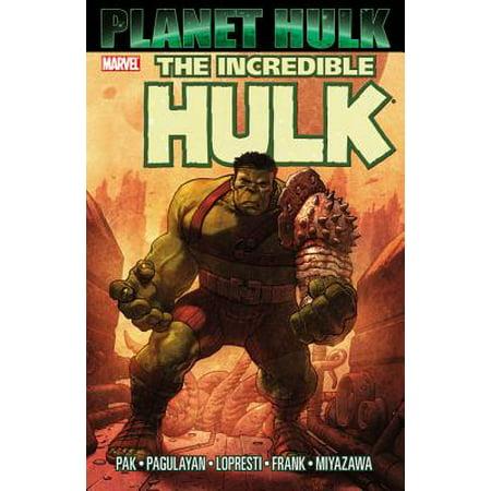 Hulk : Planet Hulk - Incredible Hulk Comic Book Cover