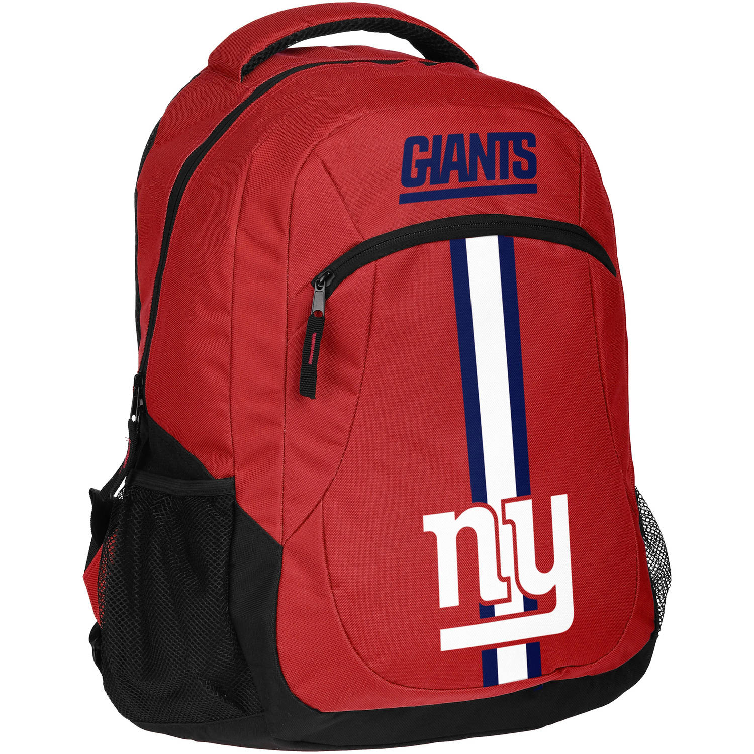 Forever Collectibles NFL New York Giants Action Stripe Logo Backpack